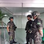 32º Batalhão de Infantaria Leve recebe a visita do Comandante da 1° DE na Operação São Francisco III