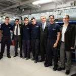 FAdeA inaugura linha de produção de componentes para o Embraer KC-390