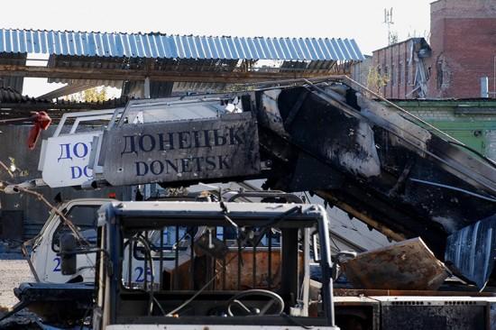 Aeroporto de Donetsk.11