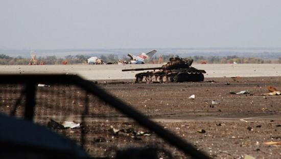 Aeroporto de Donetsk.5