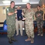 Assessor Militar da Organização das Nações Unidas visita o Estado-Maior da Military Capability Study