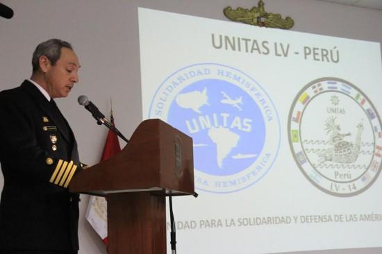 Cerimônia de abertura UNITAS