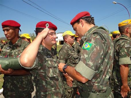 Cerimônia Comemorativa aos 62 Anos de Criação do Batalhão DOMPSA.4