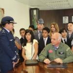 Estudante vira comandante do Quarto Comando Aéreo Regional (IV COMAR) por um dia