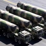 China reforça seu potencial militar com novo míssil