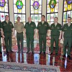 ECEME recebeu a visita de uma comitiva de militares da Russia