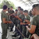 Estágio Aeromóvel do 1º Batalhão de Infantaria de Selva