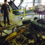 Militares da Força Aérea Chilena conhecem as atividades do Esquadrão Pantera