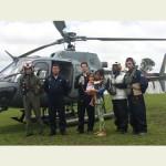 """Comando do 9° Distrito Naval realiza Evacuação Aeromédica durante """"Operação Amazônia 2014"""""""