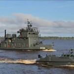 """Navios da Flotilha do Amazonas participam da Operação """"Amazônia 2014"""""""