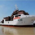 """Lançamento ao Mar do Navio de Pesquisa Hidroceanográfico (NPqHo) """"Vital de Oliveira"""""""