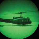Força Aérea Brasileira utilizando seus Night Vision Goggles (NVG) para salvar vidas na escuridão