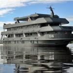 "Navio-Transporte Fluvial ""Almirante Leverger"" realiza comissão PAD-CIAsA Fase de Mar"