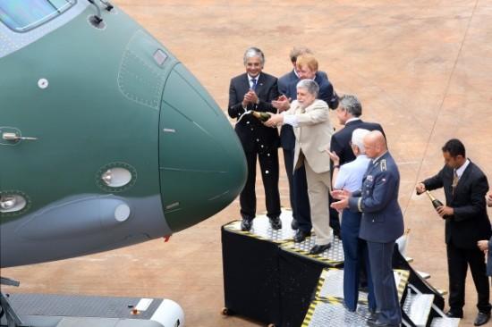 Rollout do KC 390.3