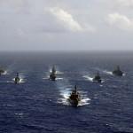 Forças navais de 13 países participaram do exercício UNITAS 55 no Peru