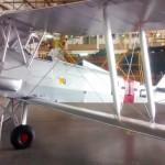"""Museu da Aviação Naval recupera sua aeronave """"TIGER MOTH"""""""