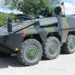 Alemanha irá comprar 131 veículos blindados Boxer
