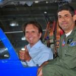 Bicampeão mundial de Fórmula 1 ministra palestra a militares da Academia da Força Aérea