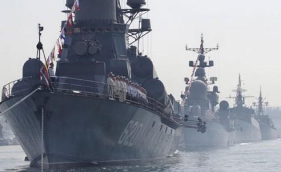 Frota russa do Mar Negro retoma presença no Mar Mediterrâneo
