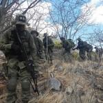 Fuzileiros Navais fazem adestramento em ambiente de caatinga no Rio Grande do Norte