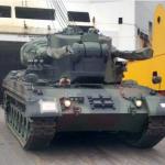 Base de Apoio Logístico do Exército recebe o 4º lote do Sistema Antiaéreo GEPARD