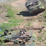 Novos Oficiais Fuzileiros Navais realizam adestramento na pista de CLAnf