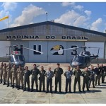 """Esquadrão HU-3 realiza Estágio de Qualificação para Fiel de Aeronaves modelo """"Esquilo"""""""