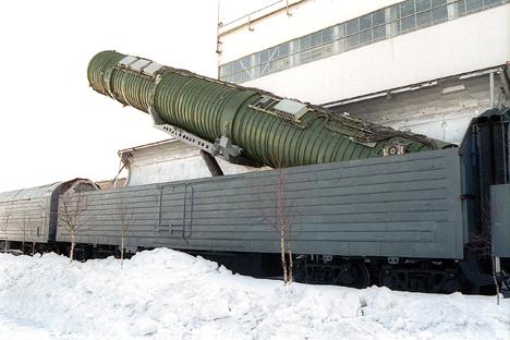 Trens porta-mísseis
