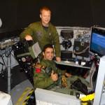 Pilotos brasileiros suportam a força da gravidade em até 9 vezes para voar no Gripen NG