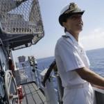 Missão:Salvar vidas!! A comandante que foi decisiva para o êxito da Operação Mare Nostrum