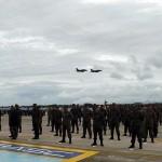 Esquadrão Adelphi celebra 40 mil horas de voo em caças A-1