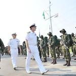 Primeiro Lorde do Almirantado da Marinha do Reino Unido visita o Batalhão de Operações Ribeirinhas