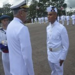 Soldados Fuzileiros Navais realizam Juramento à Bandeira no Centro de Instrução e Adestramento de Brasília