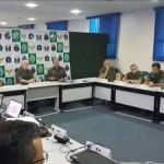 Comandante de Operações Navais visita Grupamento Operativo de Fuzileiros Navais na Maré