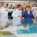 Inaugurado o prédio principal do estaleiro da nova Base Naval da Marinha em Itaguaí (RJ)