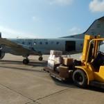 FAB realiza primeira missão com um C-97 Brasília na versão cargueiro