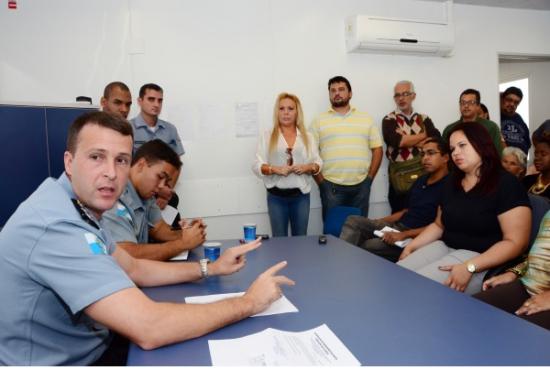 Cap. Bruno Leite reforça integração em reunião com moradores  Vanor Correia