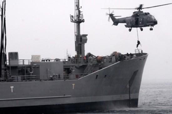 Combate à pirataria marítima