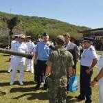 Comitiva de Cooperação em Defesa Antiaérea Brasil-Rússia visita o Comando da Divisão Anfíbia