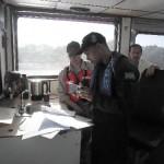 """Navio-Transporte Fluvial """"Almirante Leverger"""" realiza Comissão de Inspeção Naval"""
