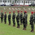 33º aniversário do 1º Esquadrão de Cavalaria Pára-quedista