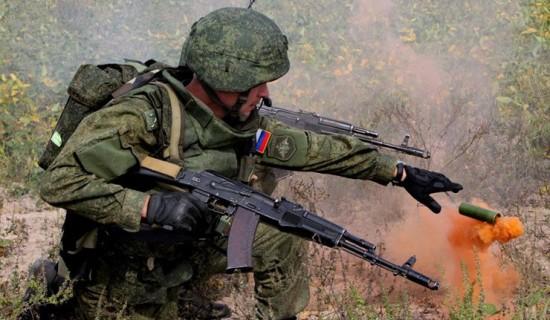 Foto de arquivo. Exercícios das Forças Armadas da Rússia