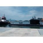 """Submarino """"Tapajó"""" e Navio de Socorro Submarino """"Felinto Perry"""" participam da Operação """"INAUGUREX 2014"""""""