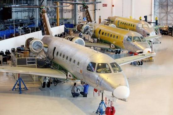 Linha-de-produção-Legacy-500-foto-Embraer