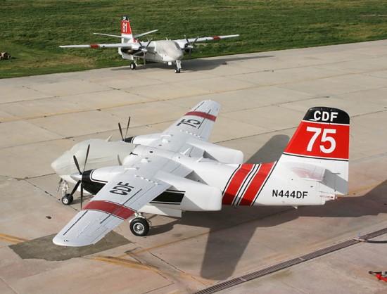 Marsh Aviation certificada e implementado a conversão de 26 ex-US Navy C-1 Trader em Turbo Trader bombeiros aéreas para o Departamento de Florestas e Protecção contra incêndios da Califórnia
