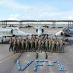 Natal recebe aeronaves da Marinha para adestramento
