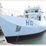 """Navio Hidroceanográfico Fluvial (NHoFlu) """"Rio Branco"""" é incorporado à Marinha do Brasil"""