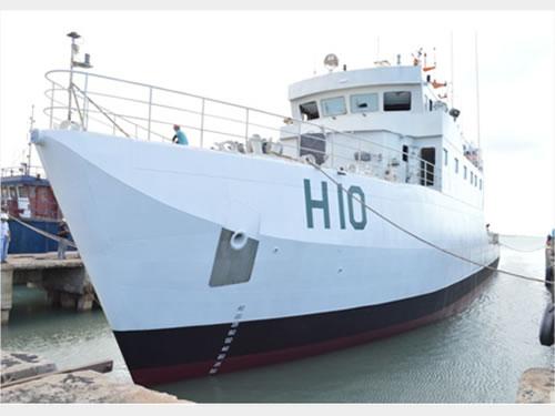 """Navio Hidroceanográfico Fluvial (NHoFlu) """"Rio Branco"""""""