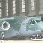 Embraer planeja que o primeiro voo do KC-390 seja logo após o Natal
