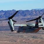 O V-22 Osprey agora será capaz de usar armas para ataque e defesa